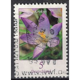 Allemagne 2005 Oblitéré Used Fleur Crocus tommasinianus Krokus SU