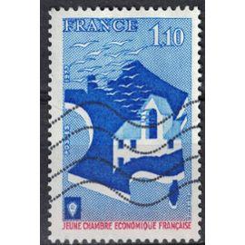 France 1977 Oblitéré Used Jeune Chambre Economique Française Y&T 1942 SU