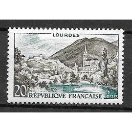 Timbre neuf de 1958,n°1150 Lourdes.