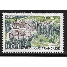 Timbre de 1963,n°1393 Vittel.