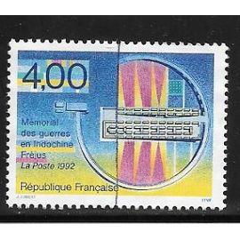 Timbre de 1993,n°2791 Mémorial des guerres en Indochine(Nécropole de Fréjus).