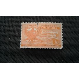 timbre colombie 1957