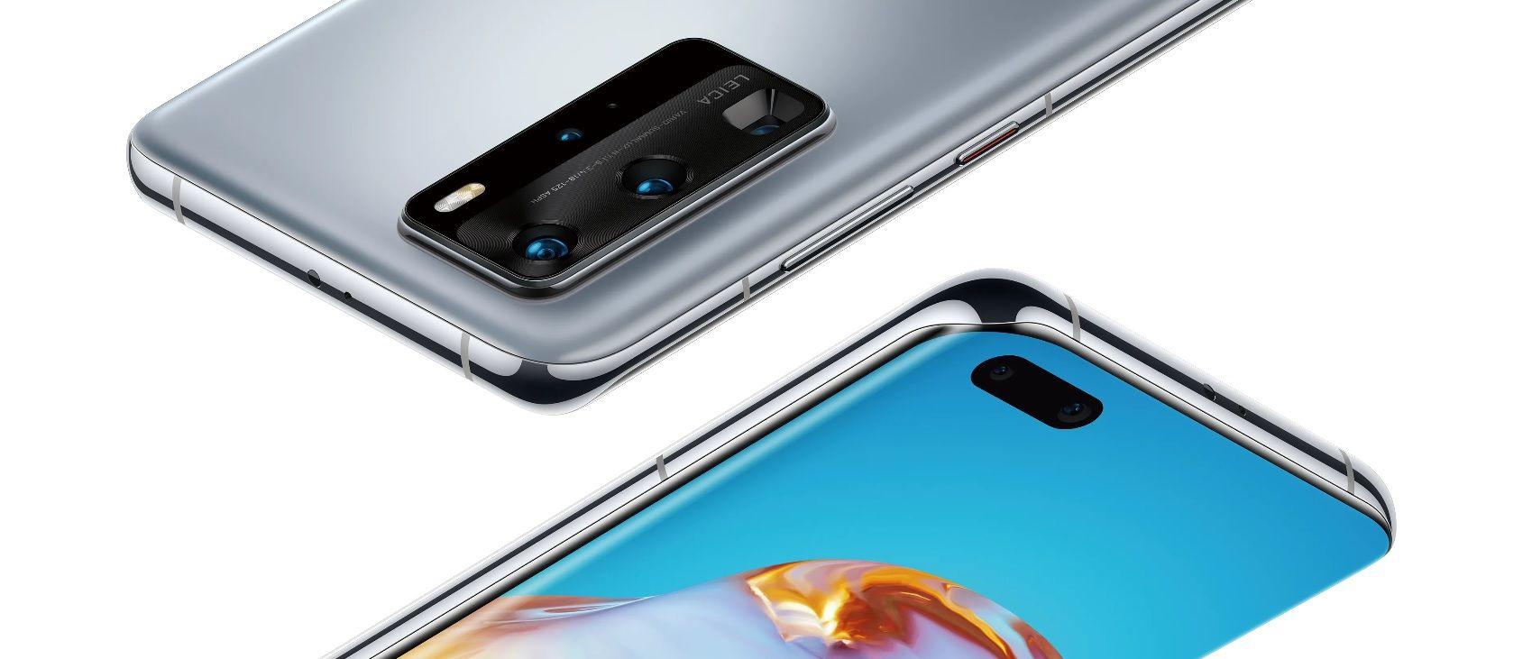 Huawei P40 Pro 5G Double SIM 256 Go Or image 1   Rakuten