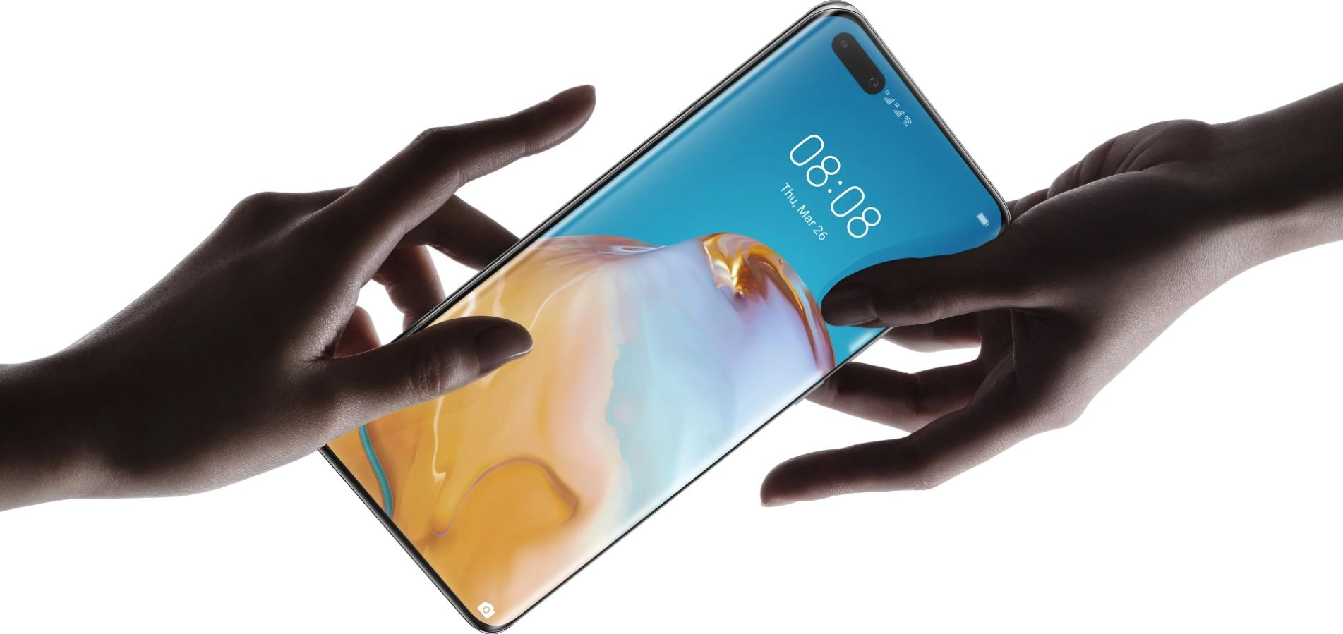 Huawei P40 Pro 5G Double SIM 256 Go Or image 2   Rakuten