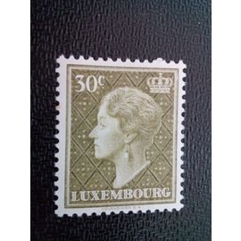 timbre LUXEMBOURG YT 545 Grande-Duchesse Charlotte 1958 ( 30304 )