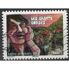 France 2011 Oblitéré Used Les Chants Corses Y&T 589 SU