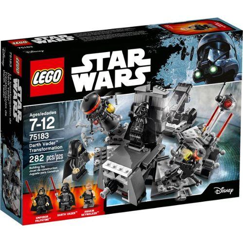 Neuf Scellé LEGO 75183 Star Wars Dark Vador Vader transformation