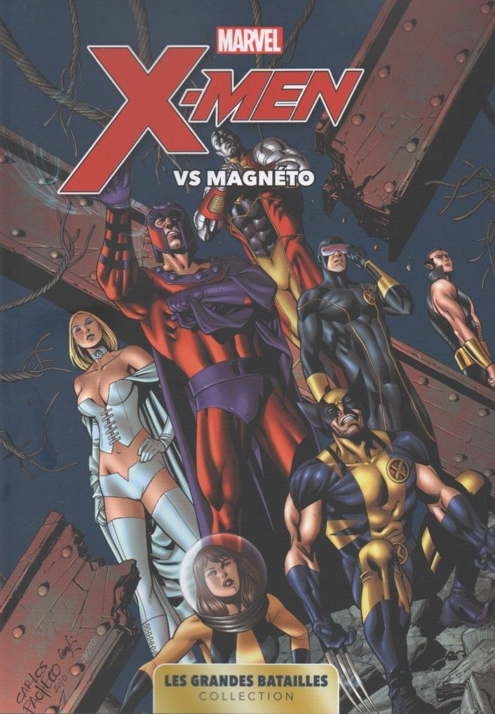 Marvel - Les Grandes Batailles 04 - X-Men Vs Magneto