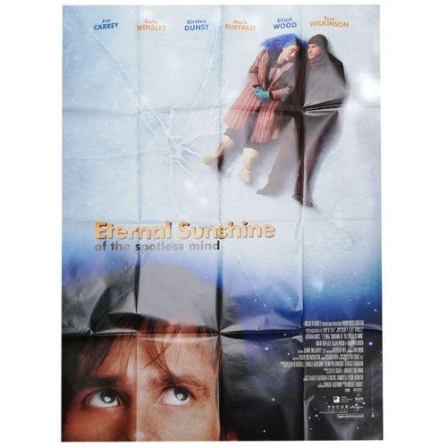 Eternal Sunshine Of The Spotless Mind Veritable Affiche De Cinema Pliee Format 120x160 Cm De Michel Gondry Avec Jim Carrey Kate Winslet 2004 Rakuten