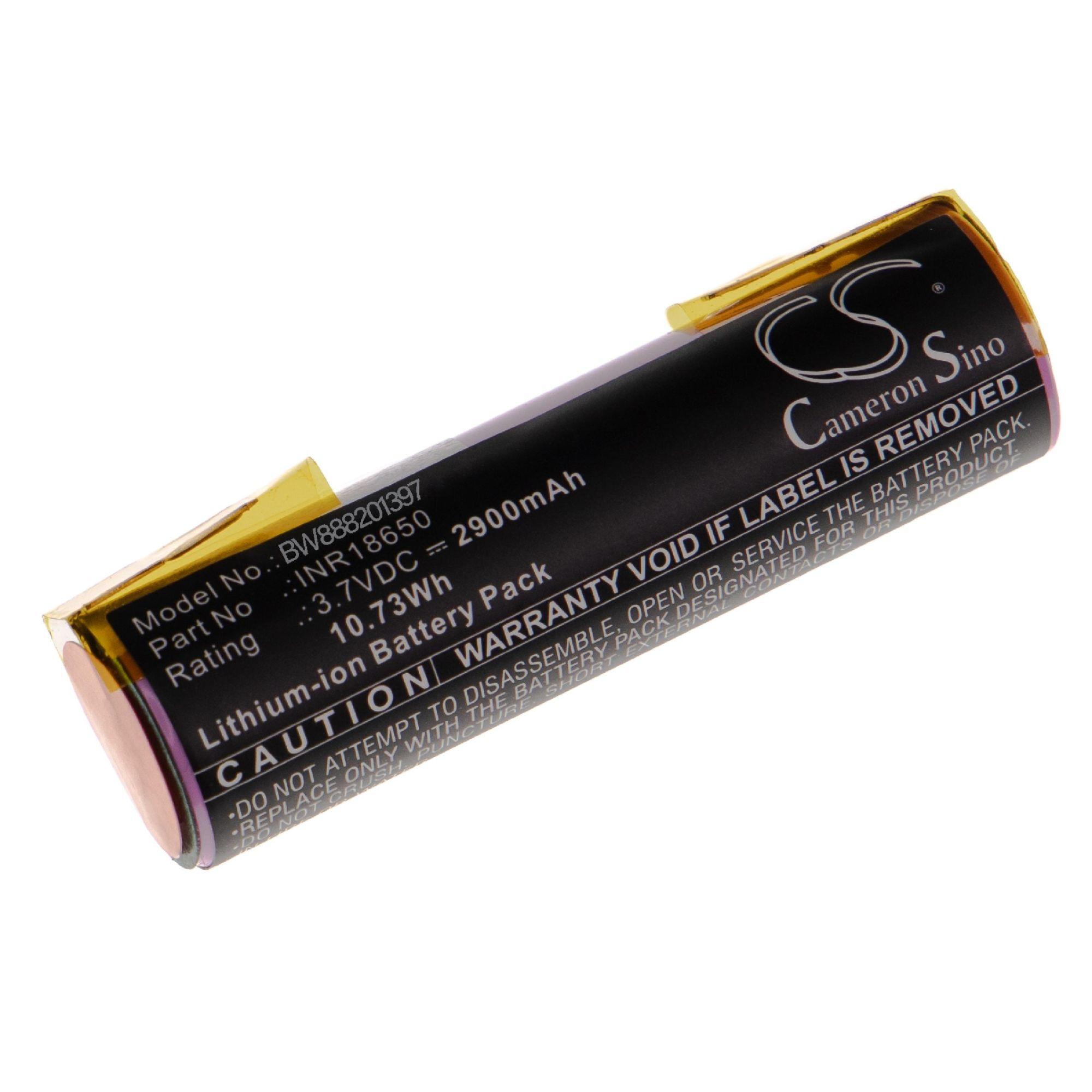 vhbw bater/ía 2900mAh Li-Ion 3,7V celda de bater/ía compatible con Vileda Windomatic herramientas el/éctricas
