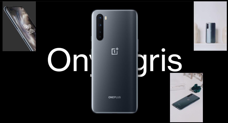 OnePlus Nord 5G 256 Go Double SIM Gris onyx image 2 | Rakuten