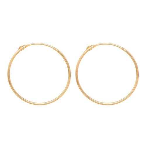 Nouveau 14K Or Jaune Poids Léger Bâton droit Dangle Earrings