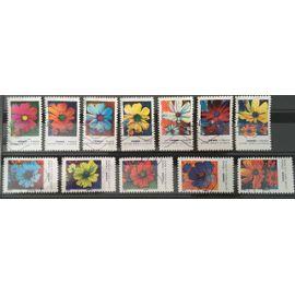 Série timbres adh&
