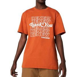 converse homme orange