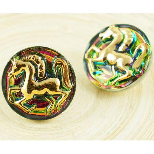 Gold Crystal joug col broderie dentelle Applique Patch motif asiatique