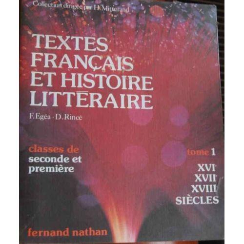Textes Francais Et Histoire Litteraire Tome 4 Xxe Siecle Livre De L Eleve Rakuten