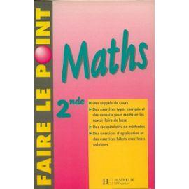 Maths, 2nde - Danielle Kieken