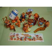 BPZ Lot série complète Kinder 10 les Castors Chinois France 2000