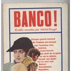 Banco - Borget, Michel