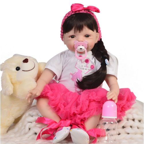 Les filles de Noël Toy Bundle poupées Crafts Cheveux Tressage livres crayon cas 9 objets
