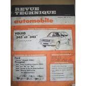 Revues techniques REVUE TECHNIQUE AUTOMOBILE N°416 VOLVO 343 345 Auto: revues, manuels