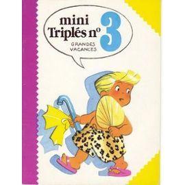 MINI TRIPLES  N°3 - Nicole Lambert