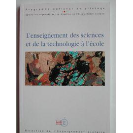 L'enseignement Des Sciences Sociales Et De La Technologie À L'école - Collectif