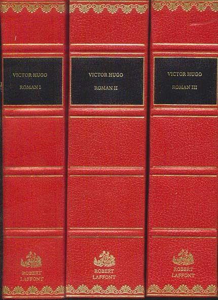 Victor Hugo, roman, 3 volumes