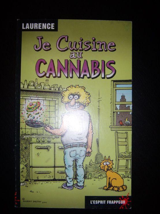 je cuisine au cannabis