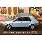 Ritmo Bleu Seat 143 1979 Ixo Altaya 75cl roxCBWQde