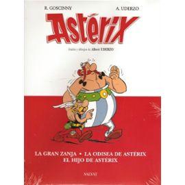 Asterix: La Gran Zanja, La Odisea De Asterix, El Hijo De Asterix - R Goscinny A Uderzo