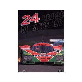 24 Heures Du Mans 1991 - Christian Moity
