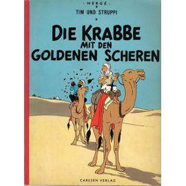 Tim Und Struppi - Die Krabbe Mit Den Goldenen Scheren - Hergé