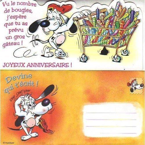 Joyeux Anniversaire Carte Postale Enveloppe Rakuten
