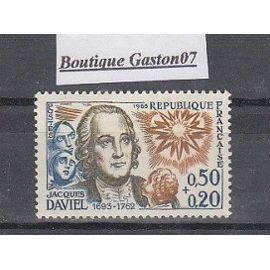 """France 1963: """"Célébrités"""", bicentenaire de la mort de Jacques Daviel (chirurgien)..Yvert & Tellier n°1374...1 valeur Neuve..."""