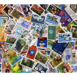FRANCE 300 timbres Grands formats différents.