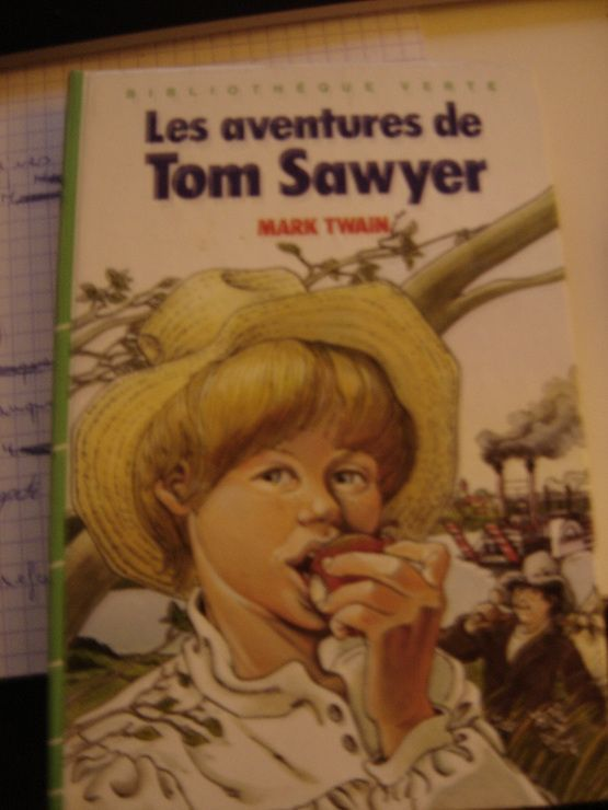 Les Aventures de Tom Sawyer (Bibliothèque verte) - 01/01/1983