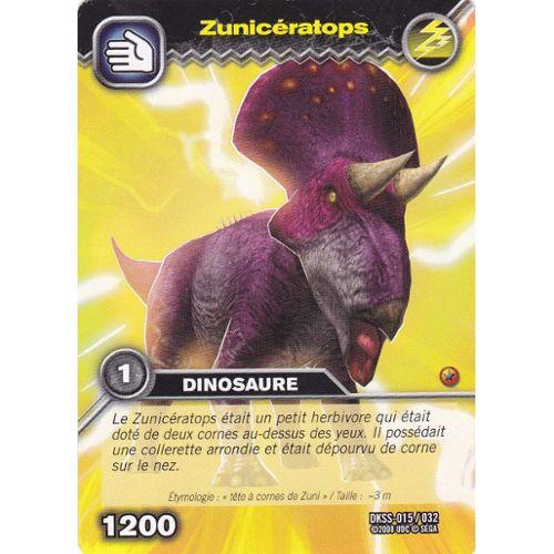 Carte De Dinosaure King Zuniceratops Rakuten