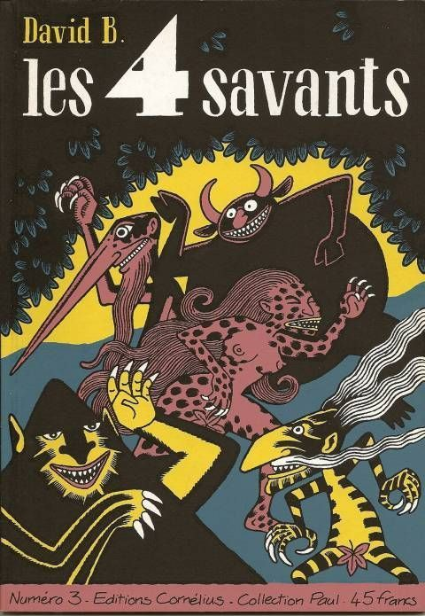 Les 4 savants, tome 3