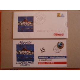Coupe du monde 1998 - Collection philatélique Marseille
