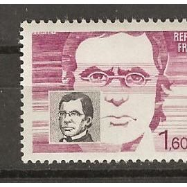 TIMBRE NEUF DE FRANCE ANNée 1984 N° 2328 émile litré