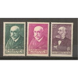 TIMBRES DE FRANCE NEUFS Année 1938 N° 377 /377a/378