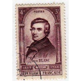 France 1948 - Y&T n°797 - Centenaire de la Révolution de 1848 - 4F+3F - Louis Blanc - Oblitéré