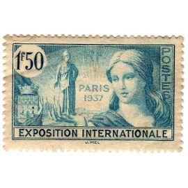 France 1937 - Y&T n°336 - 1f50 - Propagande pour l