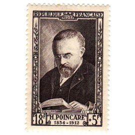 France 1952 - Y&T n°933 - 18f+5f - Célébrité du 19e siècle - Jules Henri Poincaré - Physicien - Neuf