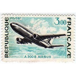 France 1973 - Y&T n°1751 - 3f - Grande réalisations - A 300 B Airbus - Neuf