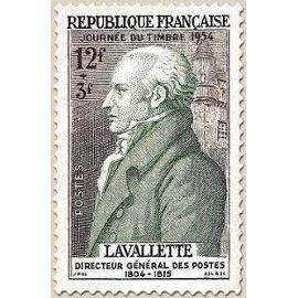 1954 COMTE DE LA VALETTE YVERT 969