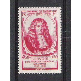 france, 1947, journée du timbre (michel le tellier, marquis de louvois), N°779, neuf ou oblitéré.