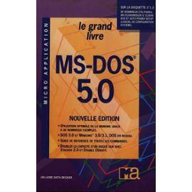 Le grand livre MS-DOS 5.0 - Helmut/Manfred Tornsdorf