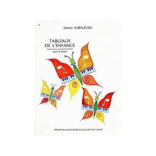 Tableaux De L Enfance De Dimitri Kabalevski Rakuten